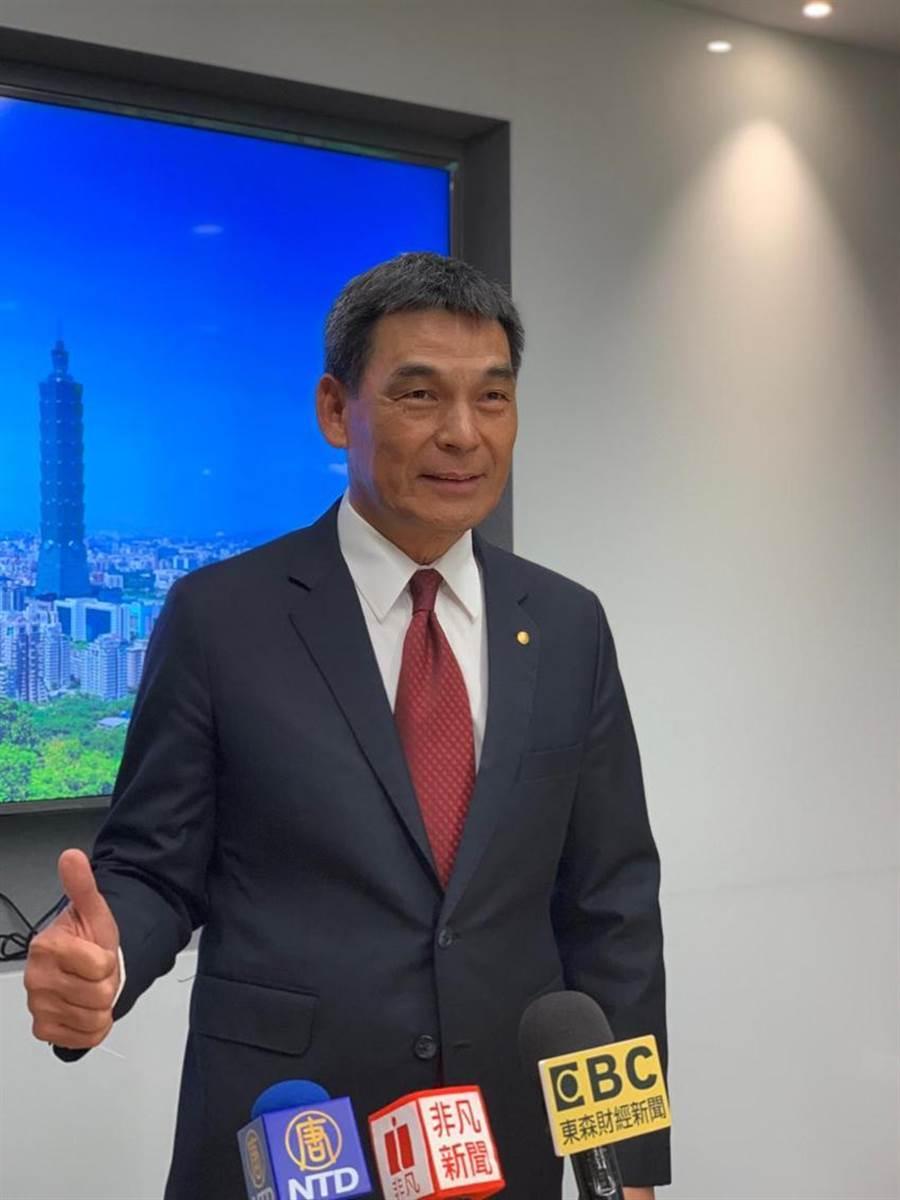 戴德梁行董事總經理顏炳立。圖/蔡惠芳