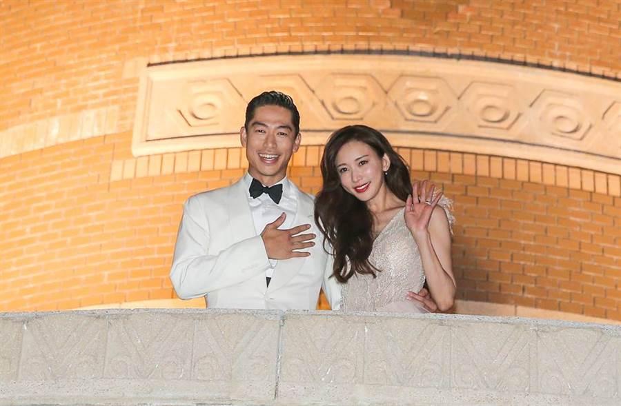 新婚的林志玲、Akira發文散發滿滿的正能量。(圖/本報系資料照片)