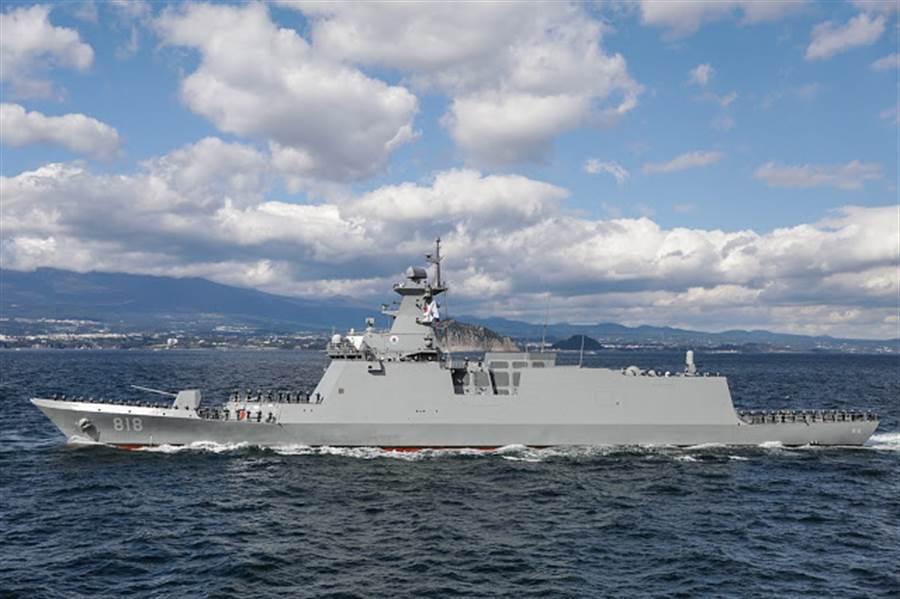 何塞•黎薩爾號是由韓國大邱級簡化而來。(圖/韓國海軍)