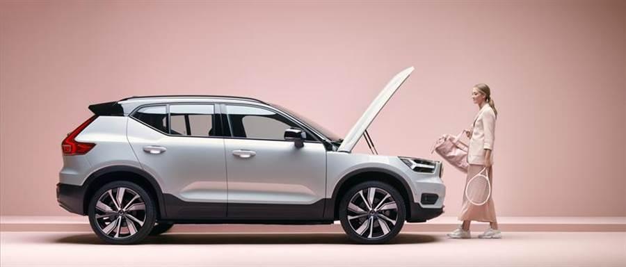 國際富豪汽車宣布展開Volvo首款純電休旅車XC40 Recharge預售活動。圖/業者提供