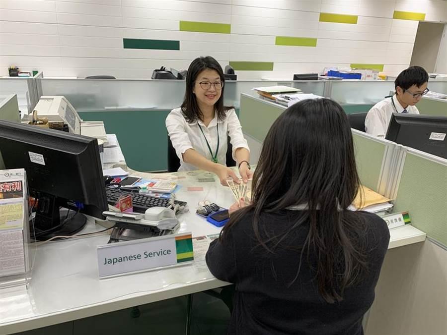 接軌國際零距離,第一銀行打造有溫度的「雙語分行」。圖/第一銀行提供