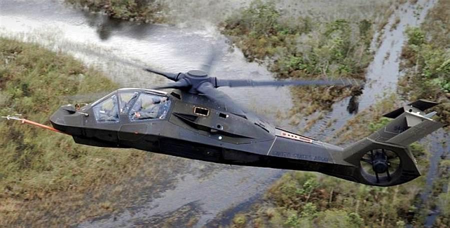 賽考斯基與波音共同製作的RAH-66匿蹤攻擊直升機,可惜沒有量產。(圖/美國陸軍)