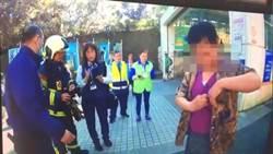 捷運動物園站前燒紙  男:為動物祈福