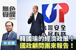 無色覺醒》林祖嘉:韓國瑜的經濟政策!國政顧問團來報告!