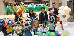 台灣第一齣氣球偶劇 為富宇住戶迎新年