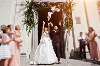 婚禮複製浪漫電影 放白鴿秒變悲劇