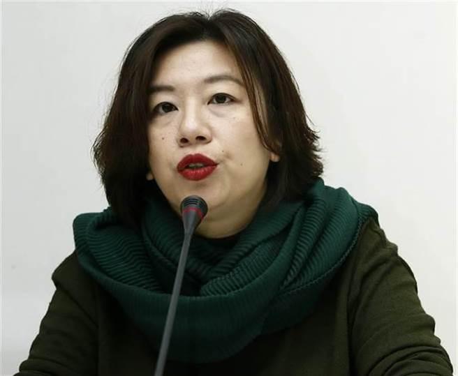 前民進黨國際部主任 林靜儀。(圖/本報資料照,劉宗龍攝)
