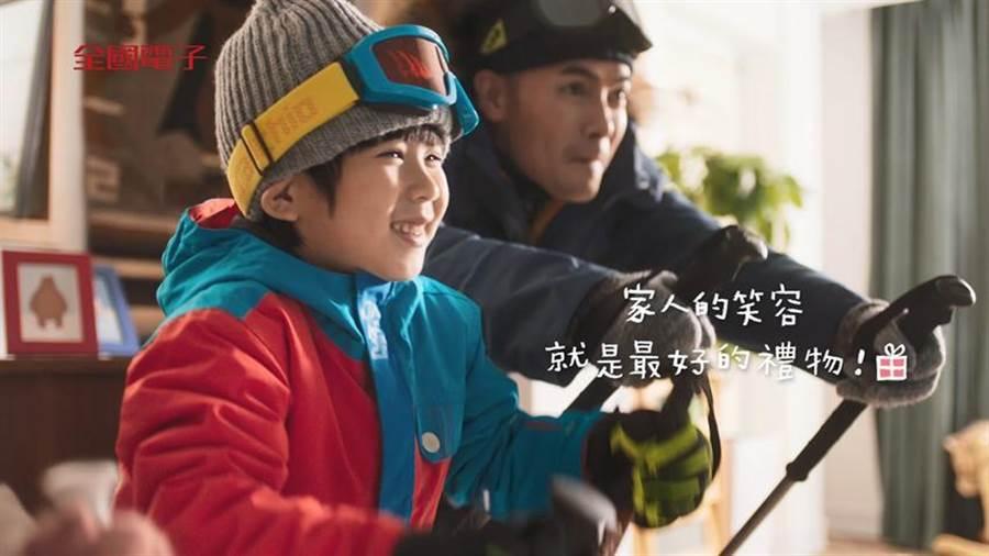 全國電子全新春節影片-最期待的那一天2日溫馨上映。(圖/全國電子)