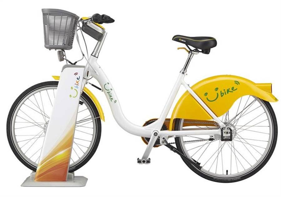 Youbike 2.0新車樣貌。(Youbike微笑單車提供)