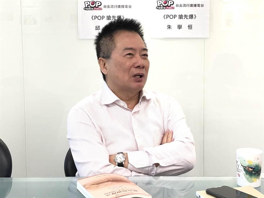 國民黨副秘書長蔡正元。(趙婉淳攝)