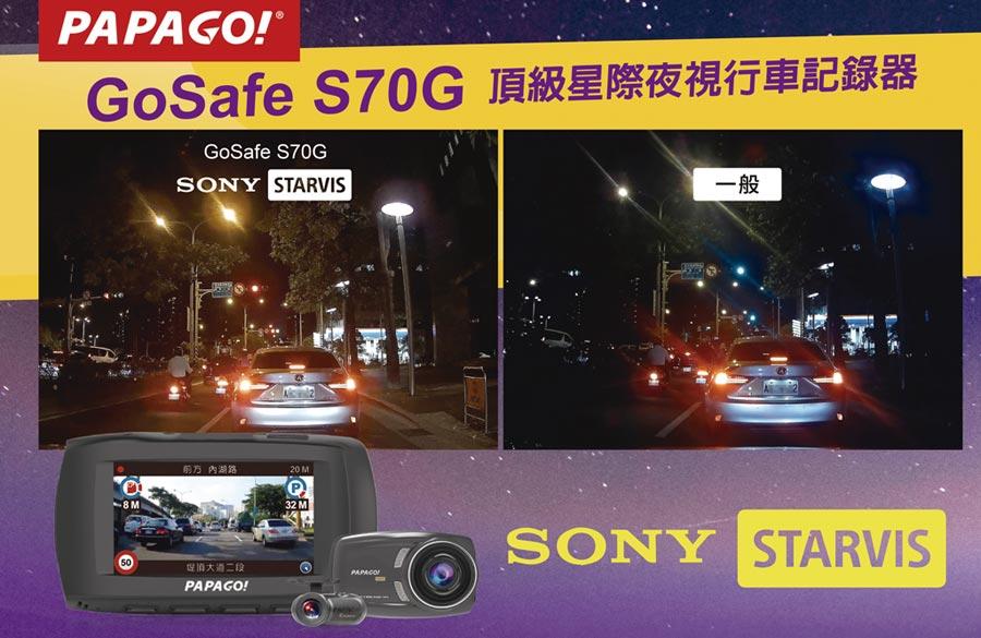 PAPAGO!推出「星際夜視系列」行車記錄器,強調最強夜視清晰度以及可選配「前後雙錄」功能,讓民眾迎向2020安全上路。圖/業者提供