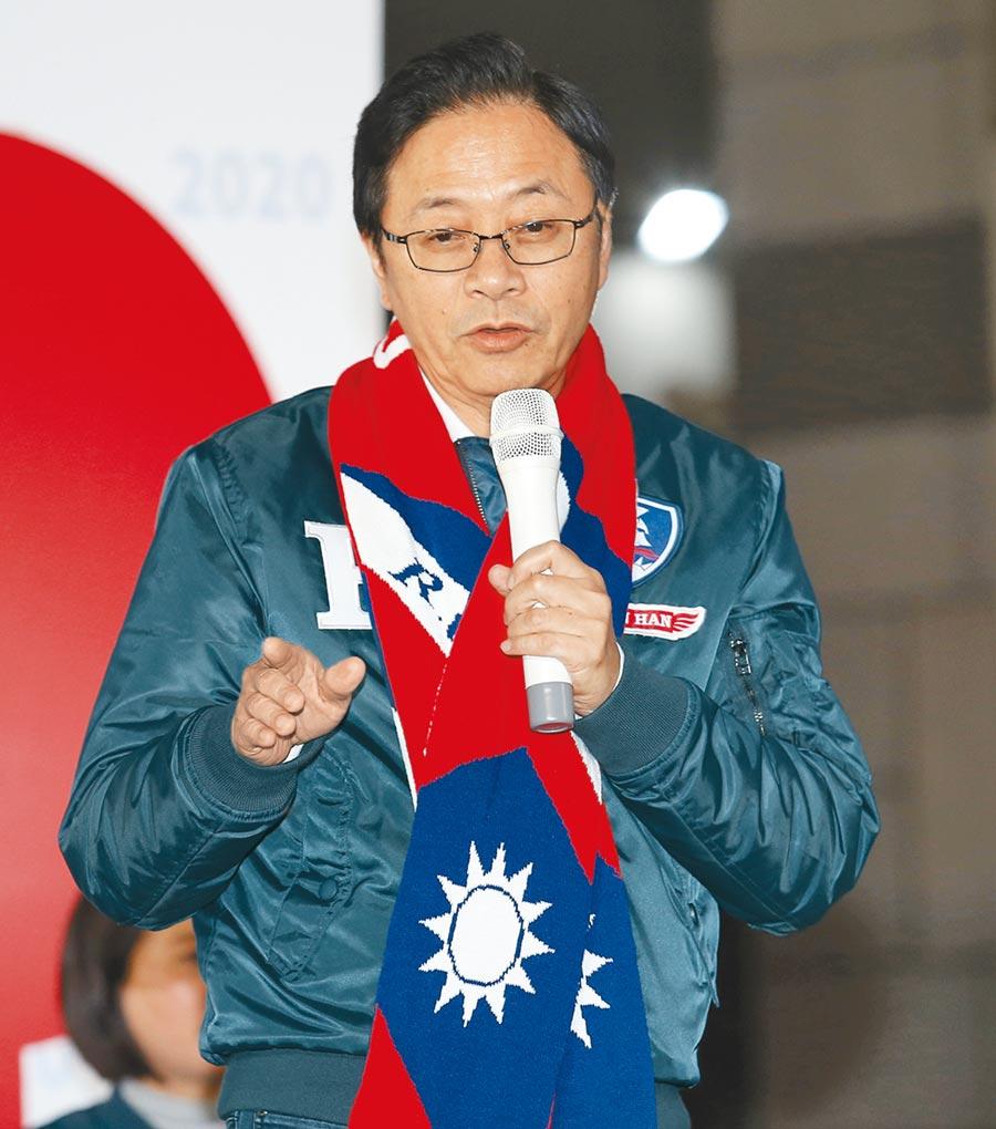 國民黨副總統候選人張善政。(本報資料照片)