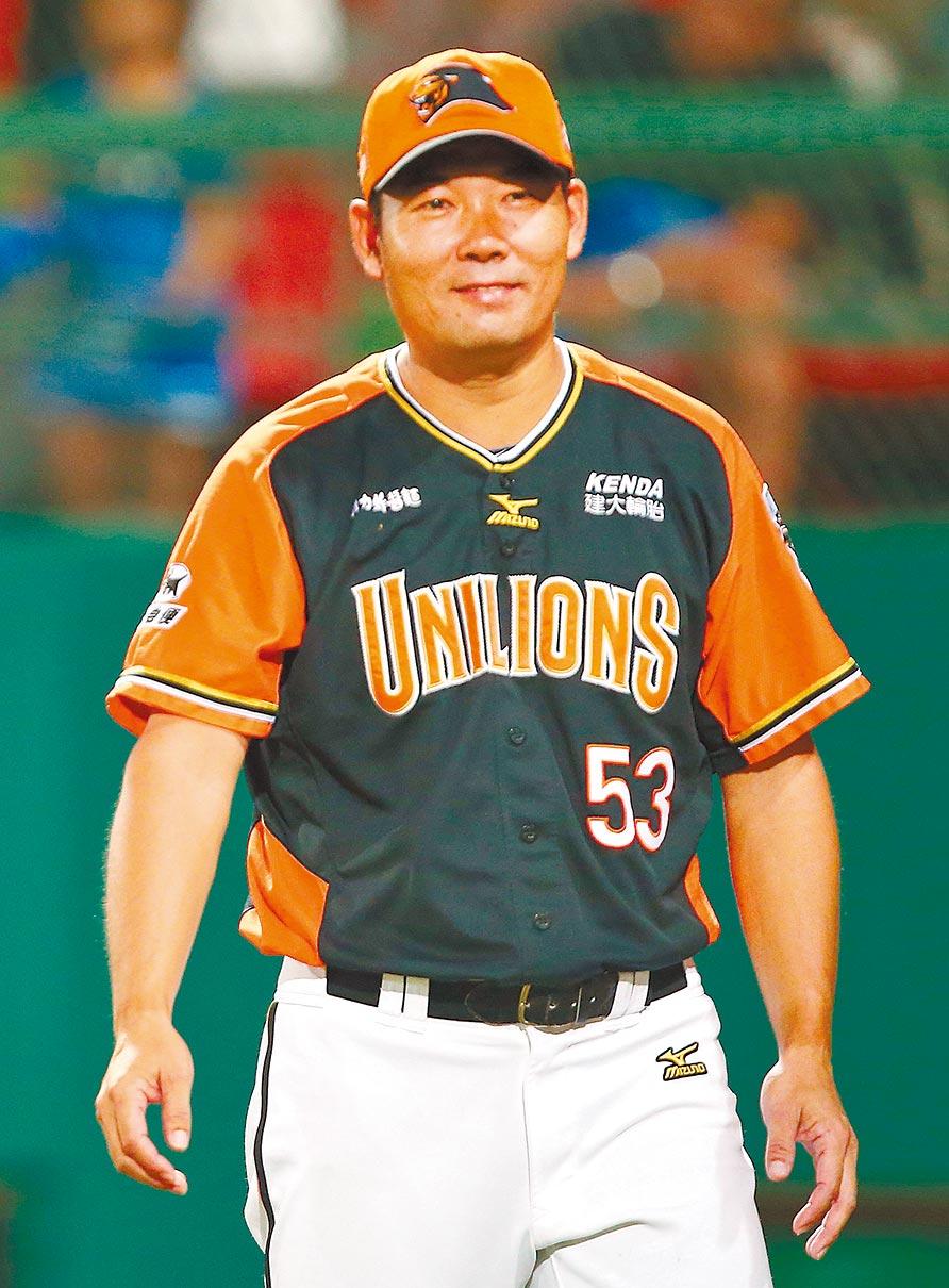 統一獅前總教練黃甘霖提前1年解約,轉到富邦悍將教練團擔任教練。(本報資料照片)