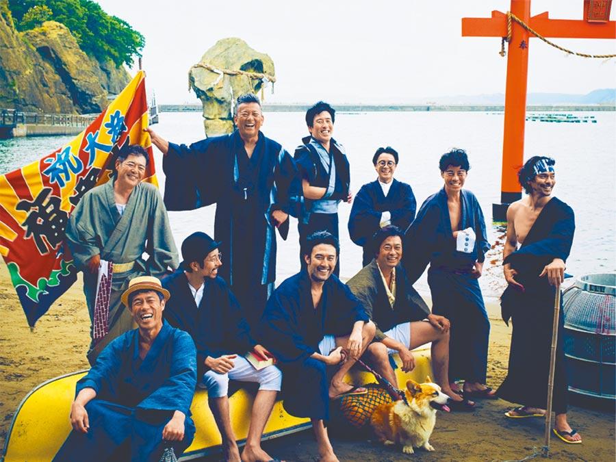 日本劇團52PRO!演員清一色都是中年大叔。(52PRO!提供/李欣恬台北傳真)