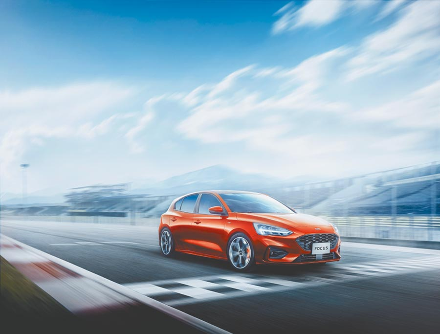 7.FORD Focus ST-Line LommelFORD Focus ST-Line Lommel賽道特化版話題十足。(福特六和提供)