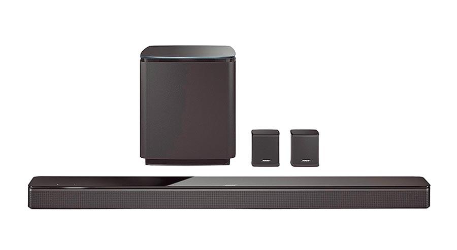 板橋大遠百賣到缺貨的BOSE Soundbar 700家庭娛樂揚聲器系統,2萬8999元。(遠百提供)