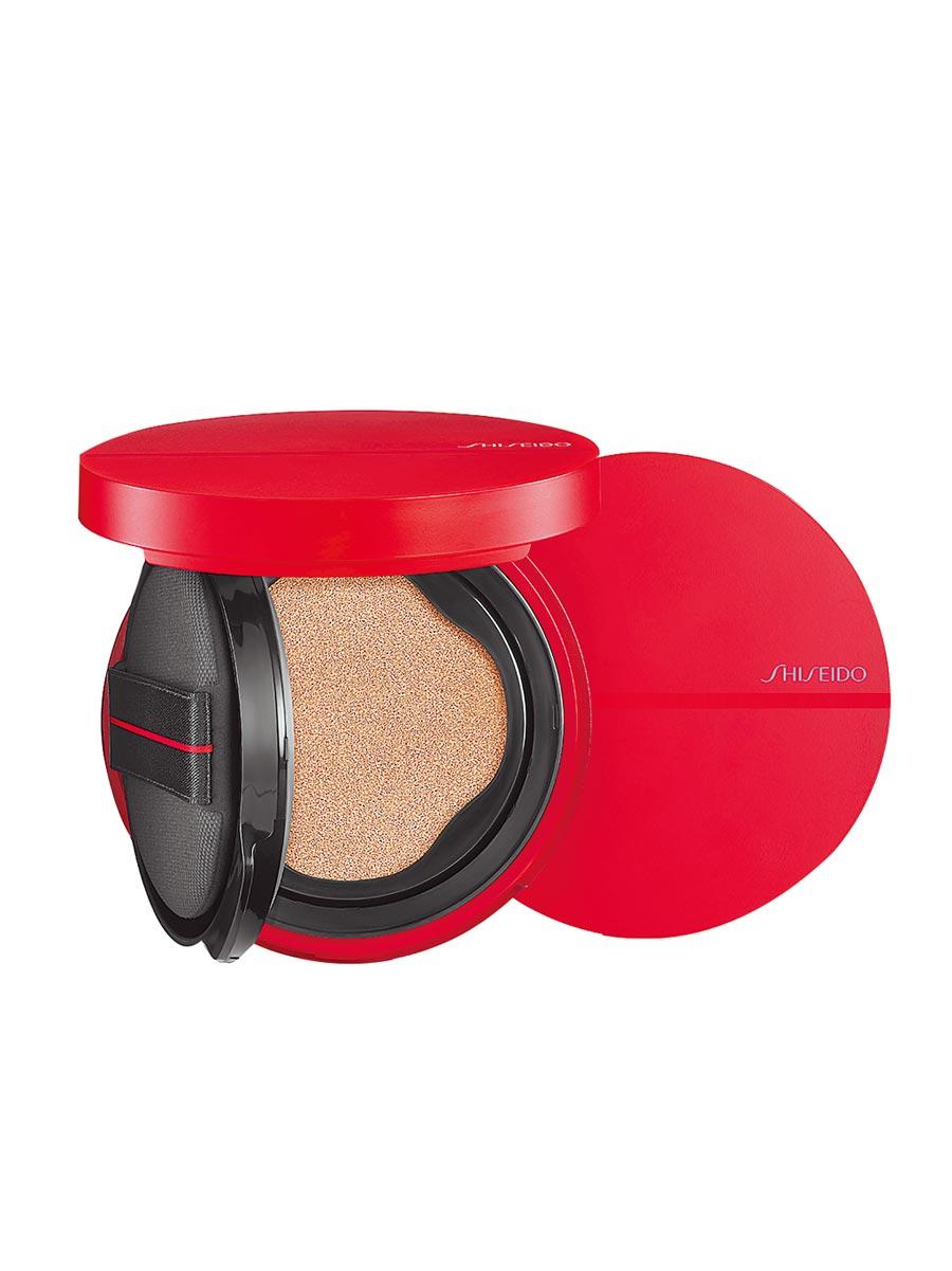 資生堂國際櫃春季底妝系列超進化光感氣墊。(資生堂提供)