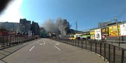 樹林保安街工廠驚傳火警 警消立即撲滅幸無人傷亡