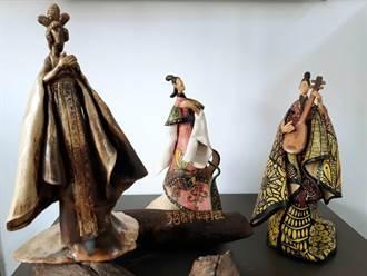 纏繞畫融合陶藝 迸出獨一無二「纏填陶繪」作品