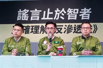 主張統一恐構成叛國 民進黨重申:台灣人民決定