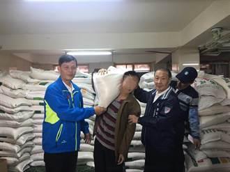 清水紫雲巖冬令救濟 發送11萬斤白米