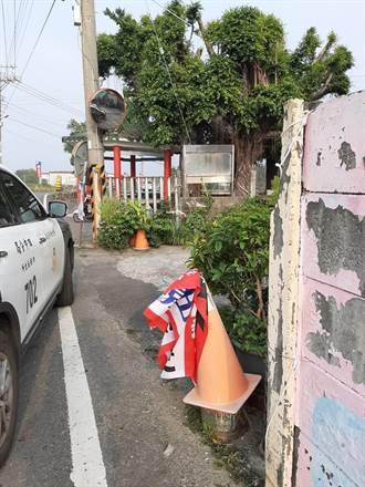大選倒數 競選旗幟看板毀損遭竊頻傳