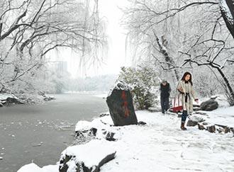 過冬堆雪人 北京台生呼新鮮