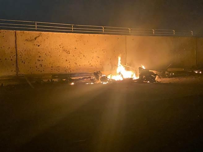 全身燒成火球!美「死神」斬首伊朗將領 影片曝光