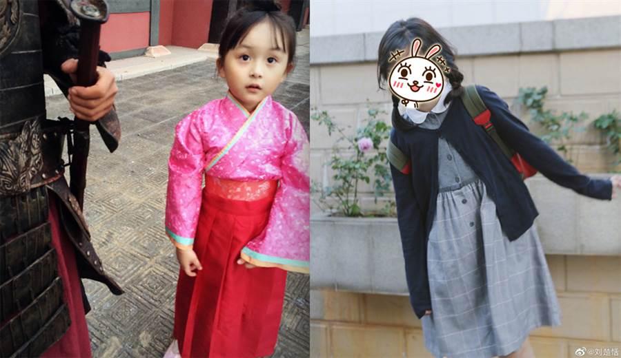 小羋月9歲了!包子臉消風飄仙氣(圖/摘自劉楚恬微博)