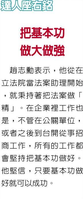 職場達人-正福(天津)國際貿易有限公司董事長 趙志勳看見品牌困境 率台灣企業攻陸