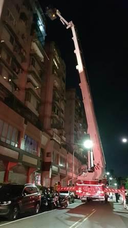內湖社區大樓深夜遭祝融  9樓4名住戶送醫急救