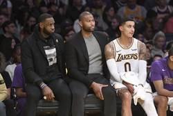 NBA》湖人主帥:不排除考辛斯本季復出