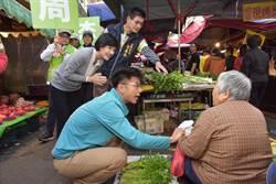 超級星期天最後衝刺 鄭麗君陪周江杰掃湖口傳統市場