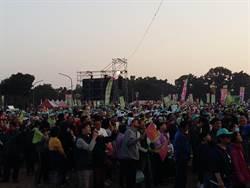 小英台南造勢晚會 主辦單位宣布15萬人