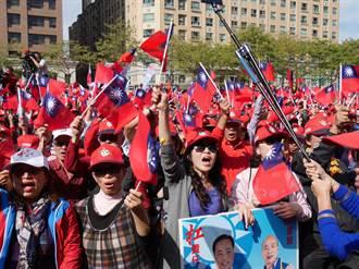 韓國瑜桃園輔選立委 批蔡假台獨:「台灣是中邪了嗎」
