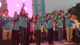 台南首場造勢活動 蔡英文:選舉可暫停國安不能停