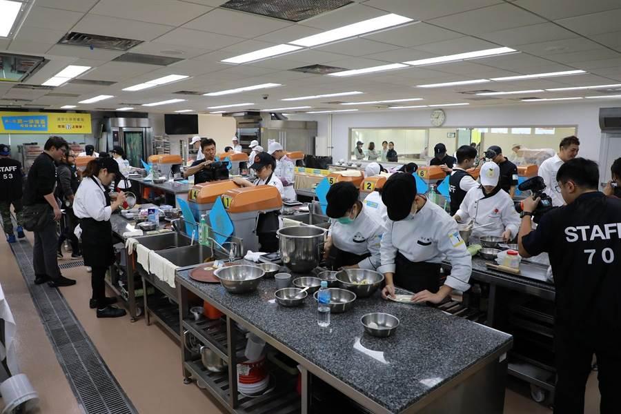 第二屆「統一烘焙盃校際烘焙大賽」決賽於2020年1月5日上午在中華穀物研究所舉行。(統一提供,王莫昀台北傳真)
