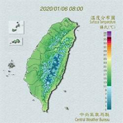 低溫來襲! 吳德榮:周三、周四台北低溫恐僅12度