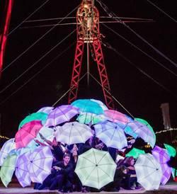 2020台灣燈會在台中  戶外高空特技秀驚豔登場