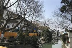 張大千舊寓所蘇州十全街坍塌 疑河道清淤造成