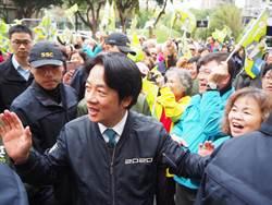 賴清德南下新竹市與鄭宏輝掃街 為選民總複習