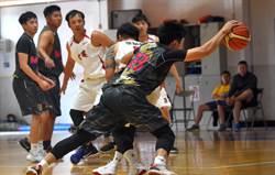 永美盃籃球賽 永美隊下起3分雨首次奪冠