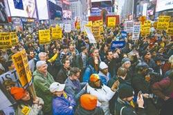 全美80多處反戰遊行 疾呼撤軍