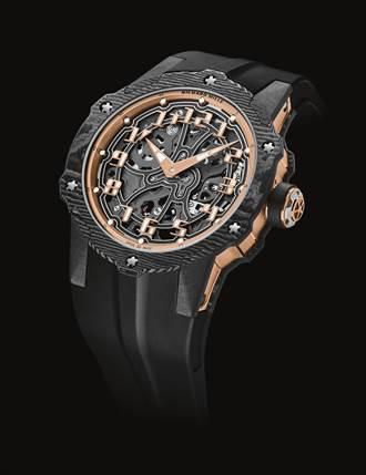 RICHARD MILLE圓融有個性 RM 33-02腕表 時尚與運動完美交融