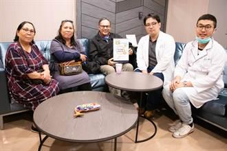丁松青神父在東元醫院宣導簽署預立醫療
