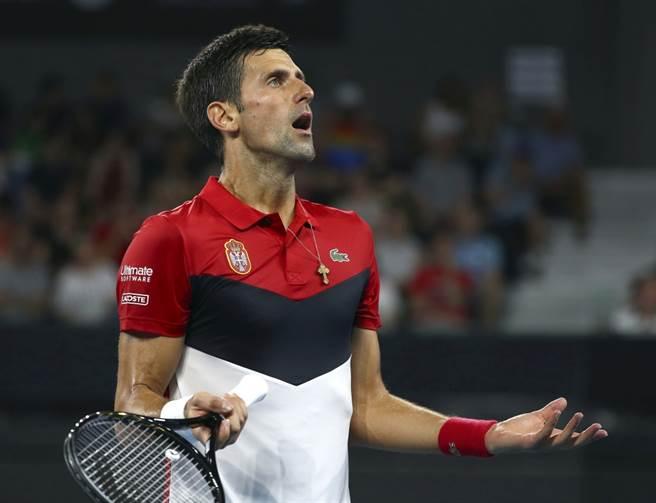 塞爾維亞網球天王喬柯維奇。(美聯社資料照)
