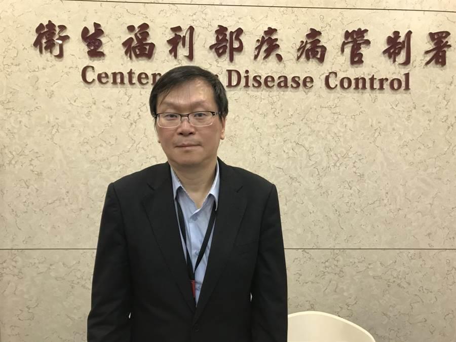 武漢不明病毒肺炎已排除SARS、MERS,初步判定為新冠狀病毒。圖為疾管署副署長莊人祥。(資料照)