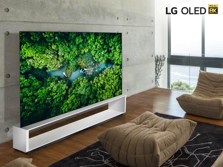 LG SIGNATURE OLED 8K TV。(LG提供/黃慧雯台北傳真)