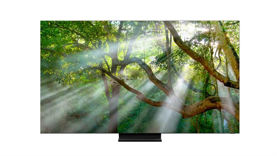 三星新一代QLED 8K系列深度整合消費者生活型態的串連功能,打造家庭的娛樂體驗。(三星提供/黃慧雯台北傳真)