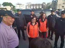 親民黨副總統候選人余湘赴苗栗竹南掃街